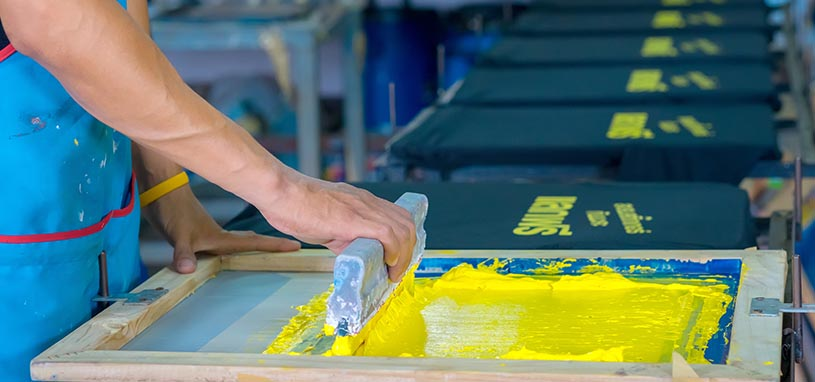 screen printing vs digital printing