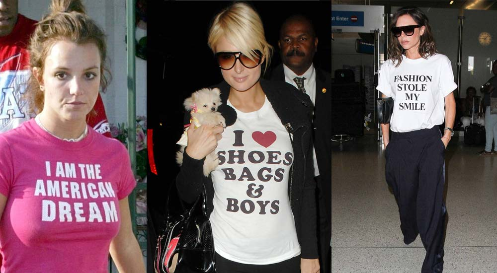 celebrity custom t-shirt ideas