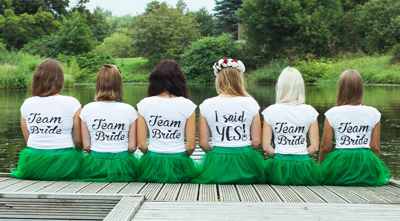 hens party custom tshirts